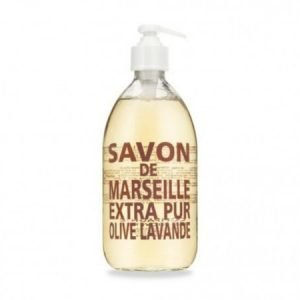 Compagnie De Provence Nestemäinen Marseille-saippua 500 ml Olive & Lavender