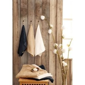 Delux Eco-puuvillapyyhe iso beige