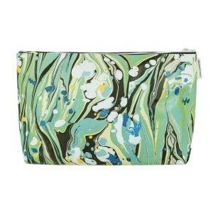Designers Guild Delahaye Turquoise Large Toilettilaukku