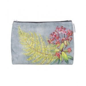 Designers Guild Tulipani Graphite Medium Toilettilaukku
