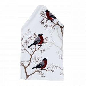 Domherre Guest Towel Vieraspyyhe Joulunpunainen 30x50 Cm