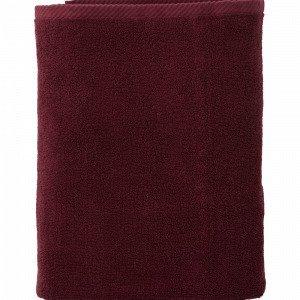 Ellos Elise Kylpypyyhe Punainen 90x150 Cm