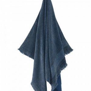 Ellos Ester Kylpypyyhe Sininen 90x150 Cm