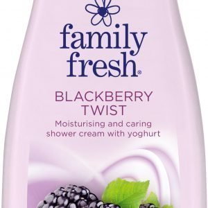 Family Fresh Blackberry Twist Suihkusaippua 500 Ml