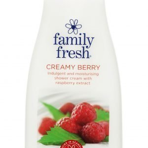 Family Fresh Creamy Berry Suihkusaippua 500 Ml