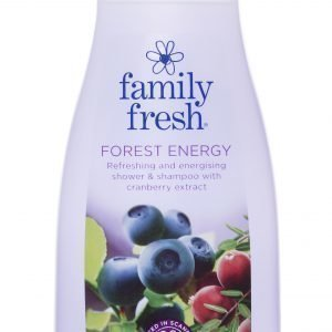 Family Fresh Forest Energy Suihkusaippua 500 Ml