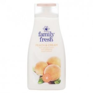 Family Fresh Peach & Cream Suihkusaippua 500 Ml