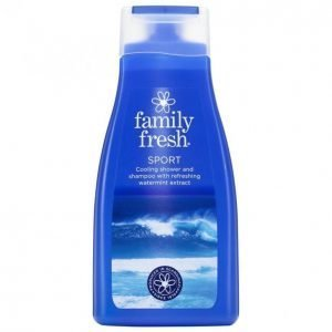 Family Fresh Sport Suihkusaippua 500ml