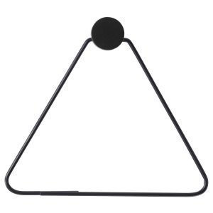 Ferm Living Black Vaateripustin Triangle