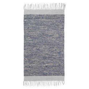 Ferm Living Melange Kylpyhuonematto Sininen / Harmaa