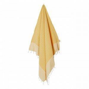 Frizzy Fouta / Hamam Pyyhe Yellow