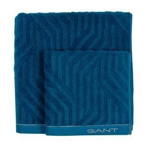 Gant Home Link Pyyhe Ink Blue 70x140 Cm