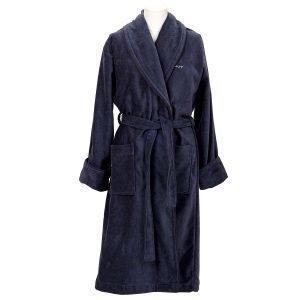 Gant Home Premium Velour Aamutakki Xs Sateen Blue