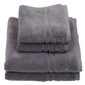 Gant Home Terry Käsipyyhe Stone Grey 70x50 Cm
