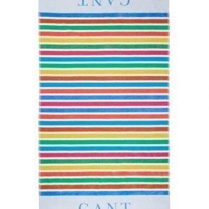 Gant Multi Stripe Pyyhe 100 x 180 cm