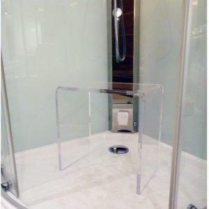 Höyrysuihkun/suihkukaapin istuin LaSpa