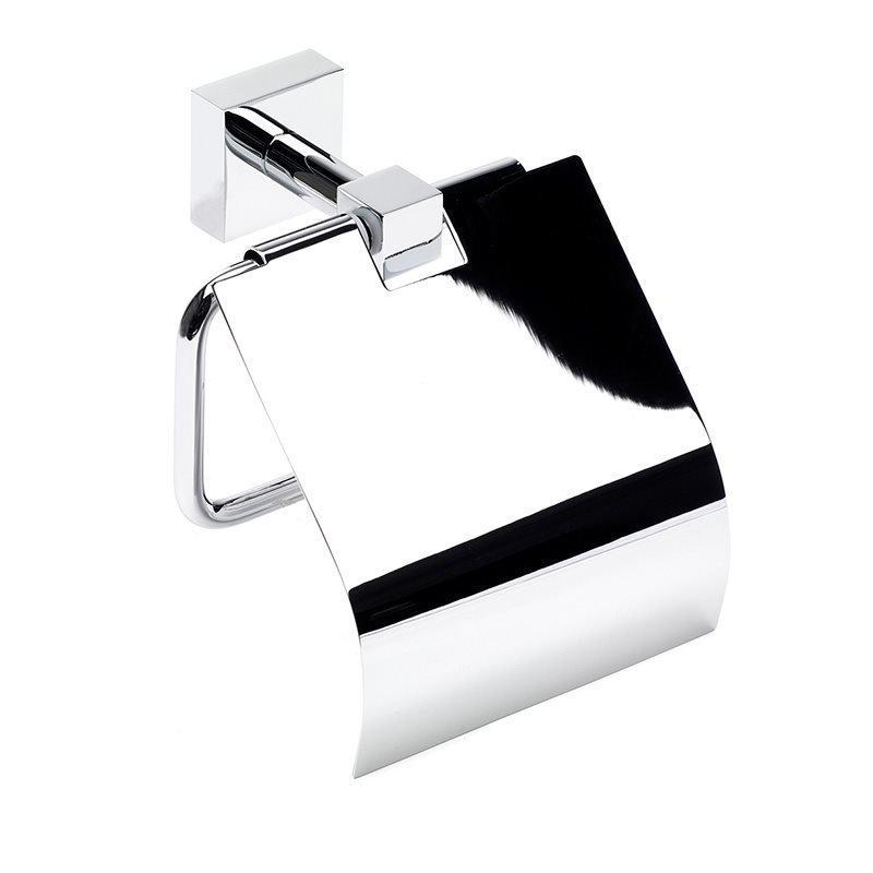 Habo Fortuna Kannellinen WC-paperiteline Kromi