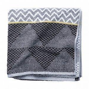 Hemtex Africa Bath Towel Kylpypyyhe Moniväriharmaa 70x140 Cm