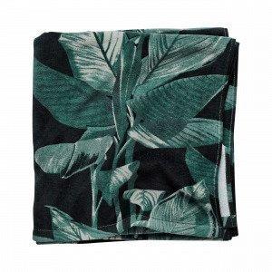 Hemtex Aruba Bath Towel Kylpypyyhe Tummanvihreä 70x140 Cm