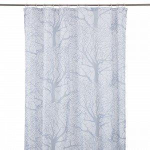 Hemtex Bergek Shower Curtain Suihkuverho Valkoinen 180x200 Cm