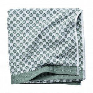 Hemtex Colette Bath Towel Kylpypyyhe Vihreä 70x140 Cm