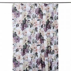 Hemtex Emmy Shower Curtain Suihkuverho Monivärivalkoinen 180x200 Cm