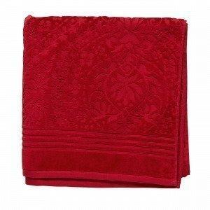 Hemtex Gertrude Kylpypyyhe Joulunpunainen 70x140 Cm