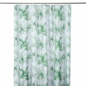 Hemtex Kampala Shower Curtain Vihreä 180x200 Cm