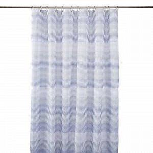 Hemtex Karlstad Shower Curtain Suihkuverho Moniväribeige 180x200 Cm