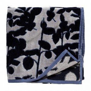 Hemtex Leonore Bath Towel Kylpypyyhe Monivärisininen 70x140 Cm