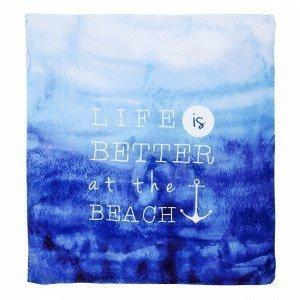 Hemtex Life Rantapyyhe Sininen 180x200 Cm