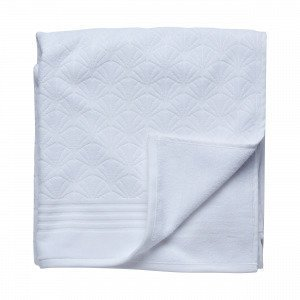 Hemtex Palmea Bath Towel Kylpypyyhe Valkoinen 70x140 Cm