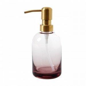Hemtex Pompe Soap Dispenser Saippua-Annostelija Vaaleanroosa 7x16 Cm