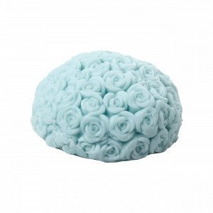 Hemtex Rose Scented Soap Tuoksusaippua Vaaleanturkoosi 8x8 Cm