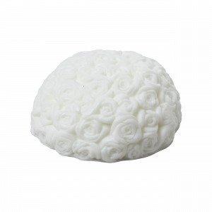 Hemtex Rose Scented Soap Tuoksusaippua Valkoinen 8x8 Cm