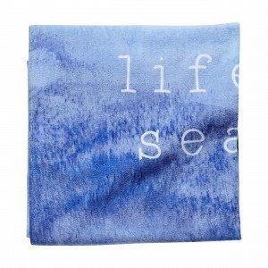 Hemtex Seasy Rantapyyhe Sininen 75x150 Cm