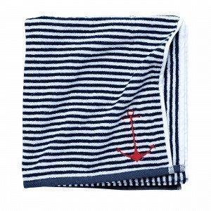 Hemtex Skagerrak Bath Towel Kylpypyyhe Mariininsininen 70x140 Cm