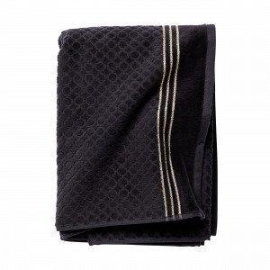 Hemtex Valentina Bath Towel Kylpypyyhe Musta 70x140 Cm