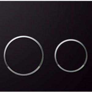 Huuhtelupainike Sigma20 musta/ kromi
