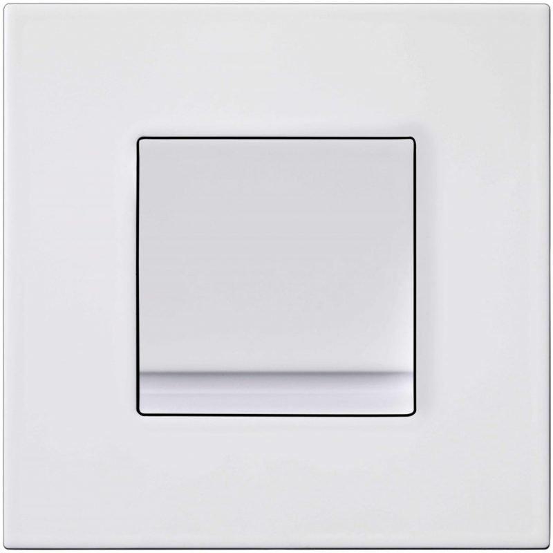 Huuhtelupainike/etulevy Gustavsberg Triomont XS 6 l valkoinen metalli