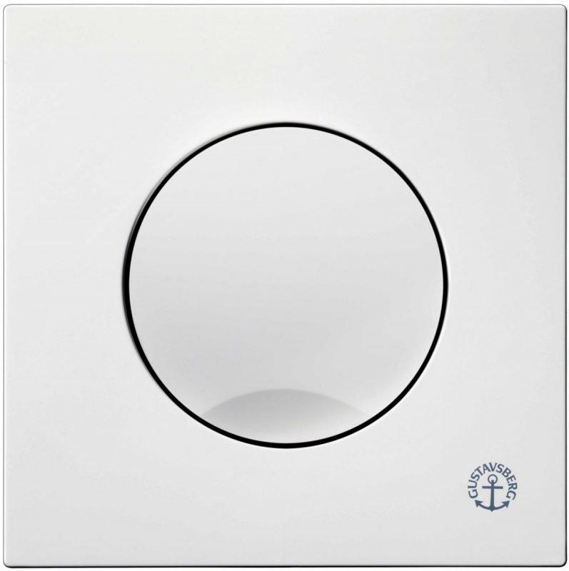 Huuhtelupainike/etulevy Gustavsberg Triomont XS 6 l valkoinen