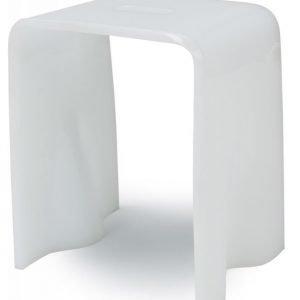 Istuin Noro 340x250x400 mm Pearl White akryyli