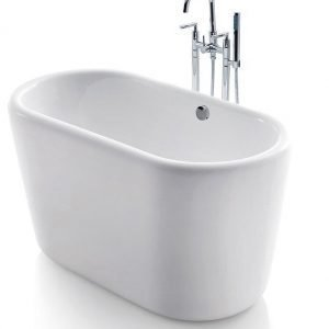 Istuma-amme Bathlife Ideal 1300 mm valkoinen