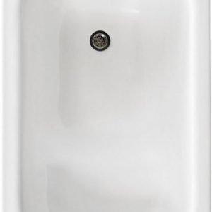 Istuma-amme Gustavsberg GBG 1051 106 l 1050x650 mm ilman etulevykehikkoa valkoinen