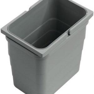 Jäteastia Otsoson kylpyhuoneryhmien alalaatikkoon sisältää kannen