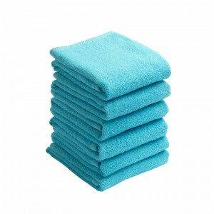 Jotex Amelie Käsipyyhkeet Sininen 6-Pakkaus