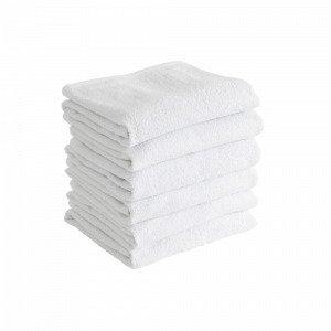 Jotex Amelie Käsipyyhkeet Valkoinen 6-Pakkaus