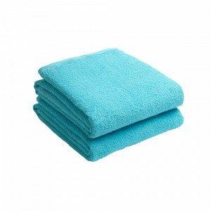 Jotex Amelie Kylpypyyhkeet Sininen 2-Pakkaus