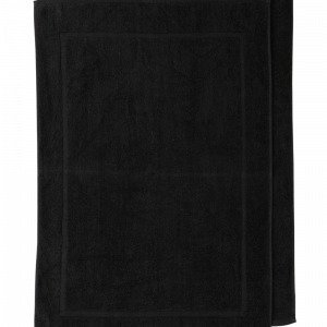 Jotex Amy Kylpyhuonematot Musta 50x80 Cm 2-Pakkaus