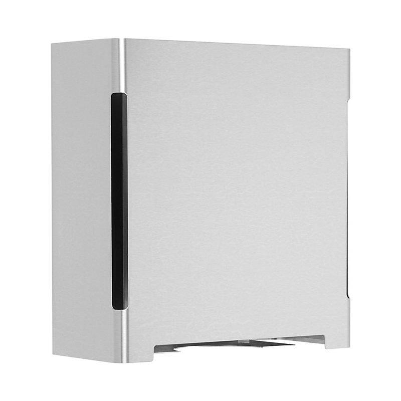 Käsipyyheautomaatti Cool-Line 285x128x300 mm harjattu teräs